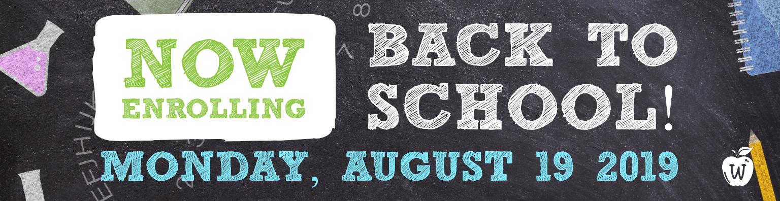 Back to School - Infant, Toddler, Preschool, Kindergarten, School Age, After School