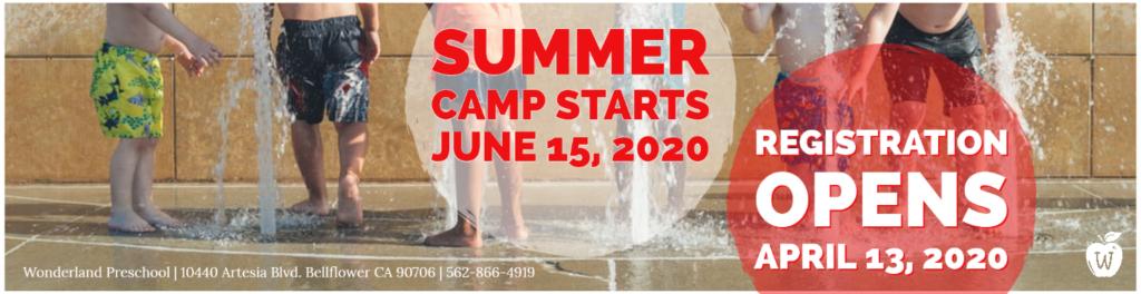 Wonderland Summer Camp - Baby Care, Preschool, Kindergarten, School Age, Elementary, Infant, Toddler